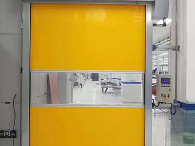 Cleanroom Roll-Up Doors